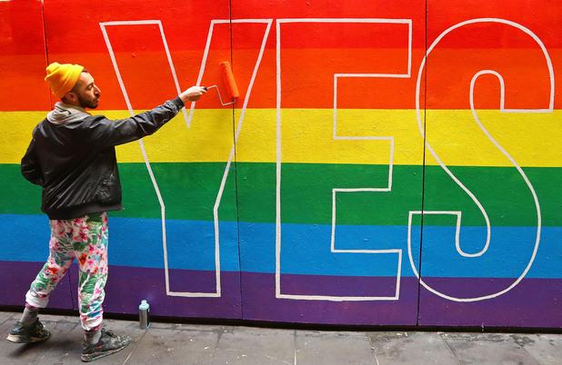австралия, да, еднополови бракове, lgbtq, lgbt