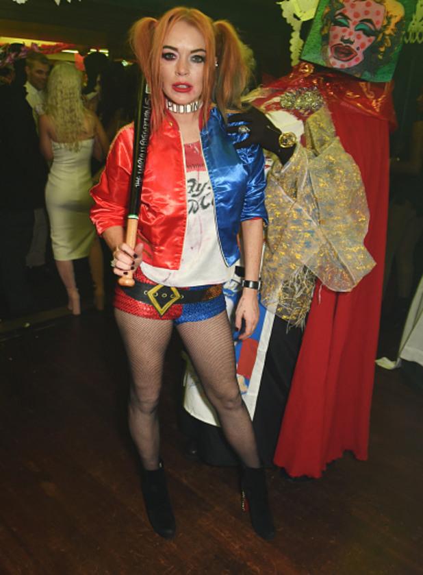 линдзи лоън, хелоуин