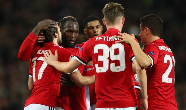 Юнайтед - Бенфика 2:0