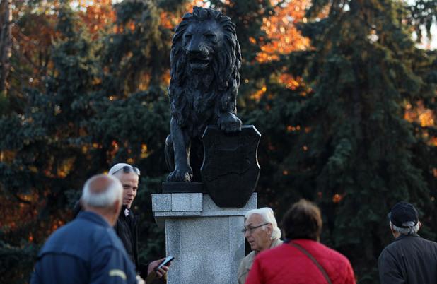 лъвът пред ндк