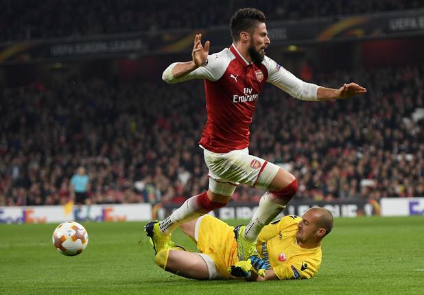 Арсенал - Цървена звезда 0:0