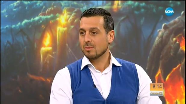 Ивайло Симеонов пред Нова телевизия
