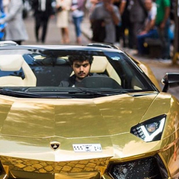 Златната кола на принц Турки бин Абдула