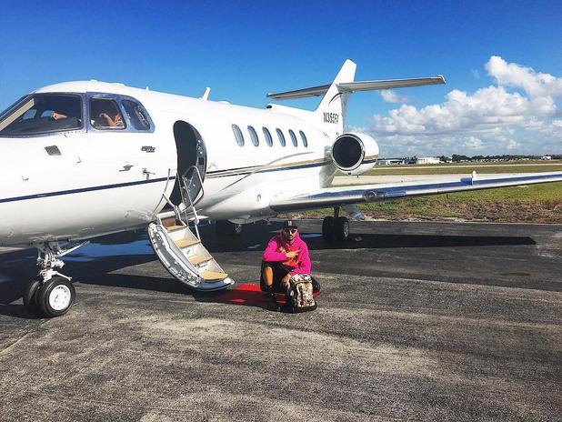 Скромният самолет на принц Фахад бин Файсал
