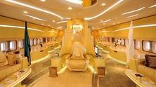 Личният самолет на принц Алуалид бин Талал