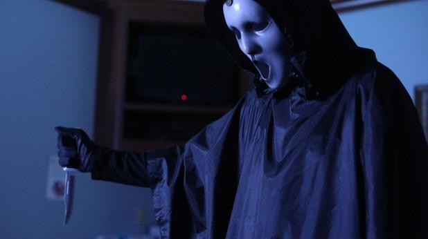 Убиецът Ghostface в телевизионния Писък
