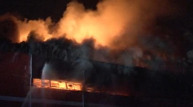 Пожар в месокомбинат във Велико Търново