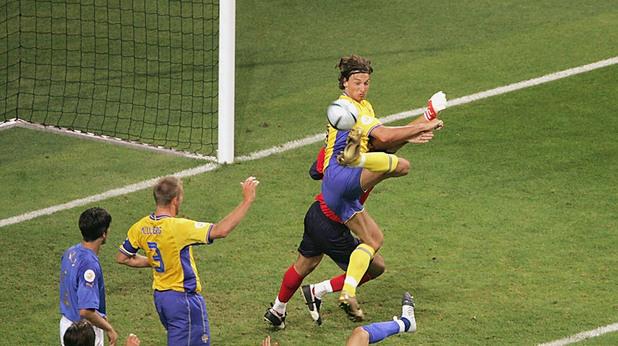 Италия - Швеция 1:1, Евро 2004