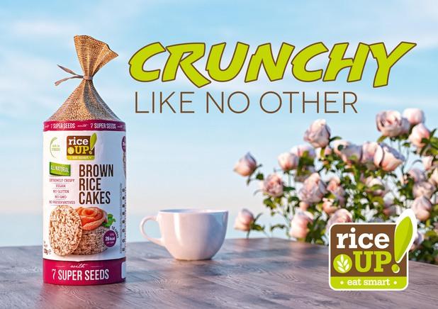rice up, кафяв ориз
