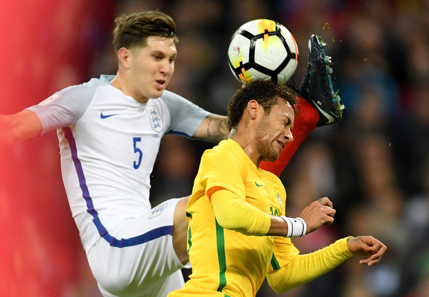 Англия - Бразилия 0:0