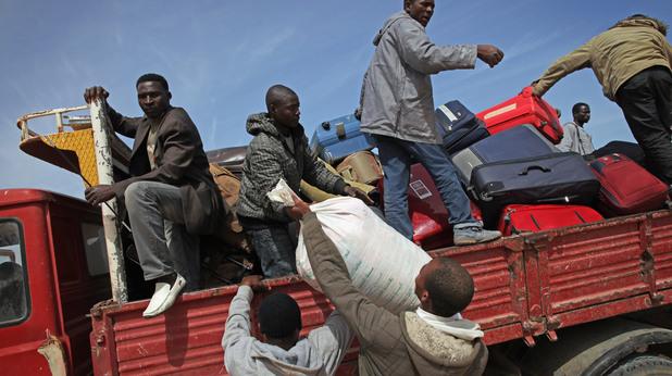 Бежанци от Нигерия