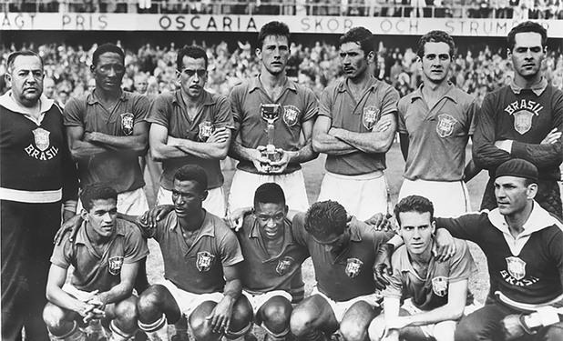 Швеция - Бразилия 2:5