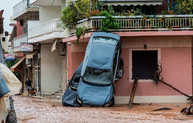 Наводнението в Гърция