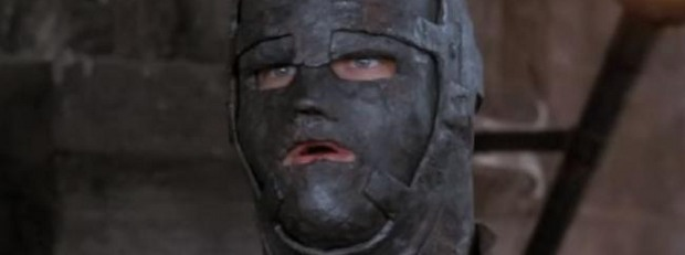 Леонардо ди Каприо като мъжа с желязната маска