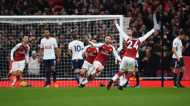 Арсенал - Тотнъм 2:0