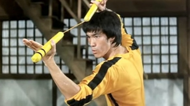 Брус Лий в The Game of Death