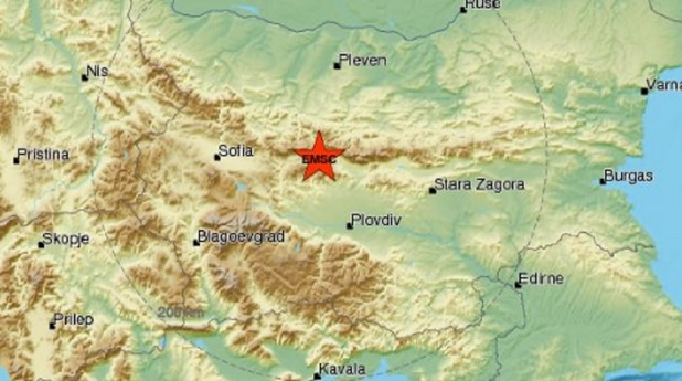 Земетресение край Клисура, 4,1 по Рихтер
