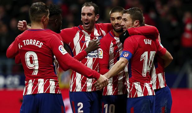 Атлетико Мадрид - Реал Сосиедад 2:1