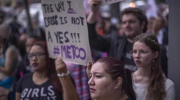Протест на движението #MeToo