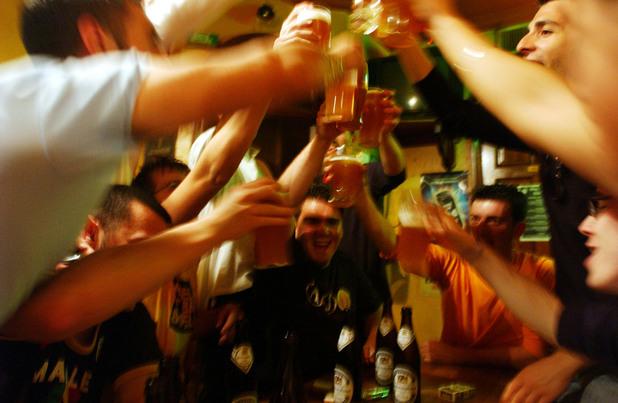 Студенти празнуват