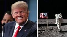 Плановете на Тръмп за Луната