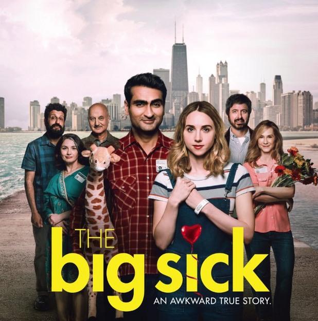 the big sick, болест от любов