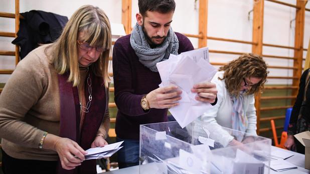 Изборите в Каталуния