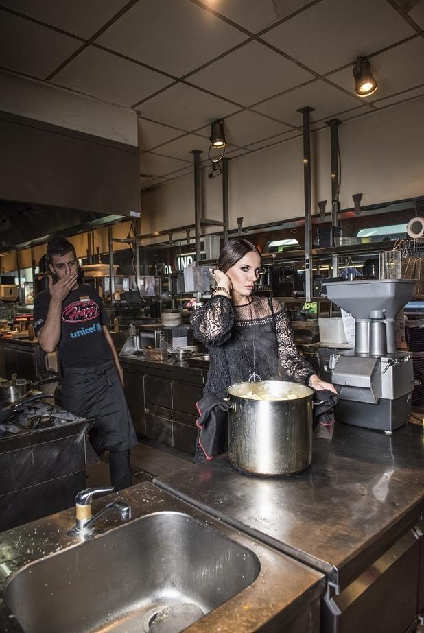 мария силвестър,силвестър в кухнята