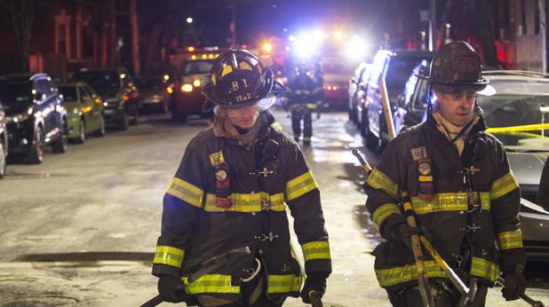 Пожарникари в Ню Йорк