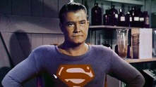 Джордж Рийвс като Супермен