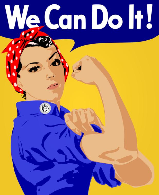 we can do it, феминистка, феминизъм