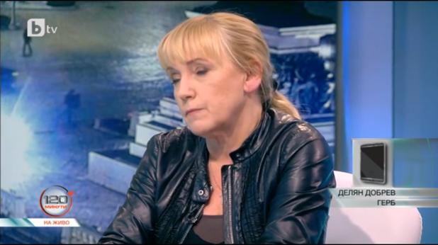 Елена Йончева в студиото на бТВ