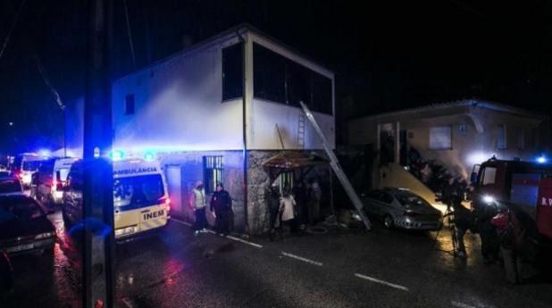 пожар в португалия, португалия, пожар
