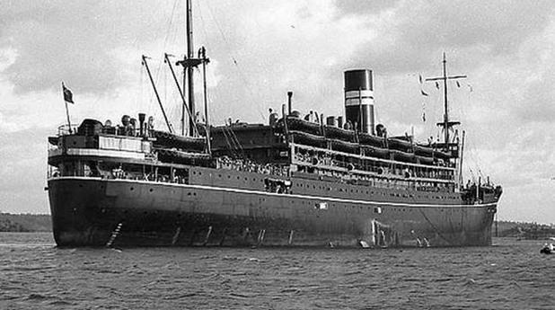 "Корабът ""Ауранг Медан"""