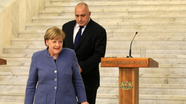 Ангела Меркел и Бойко Борисов