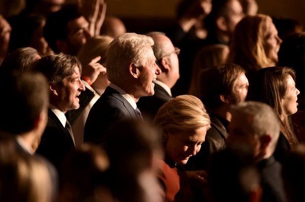 """Семейство Клинтън на наградите """"Грами"""" 2018"""