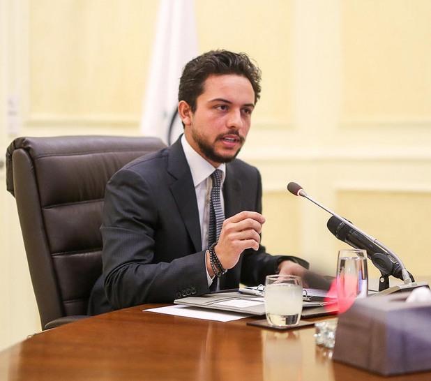Принц Хюсеин, Йордания