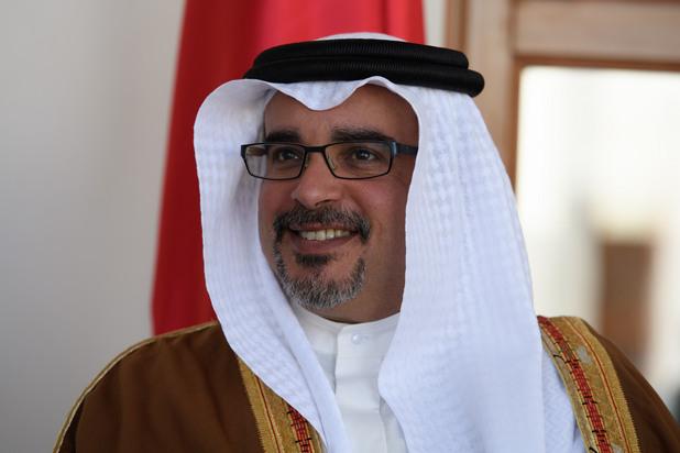 Принц Салман - престолонаследник на Бахрейн