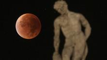 кървава луна, лунно затъмнение