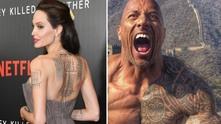 Скалата и Анджелина Джоли