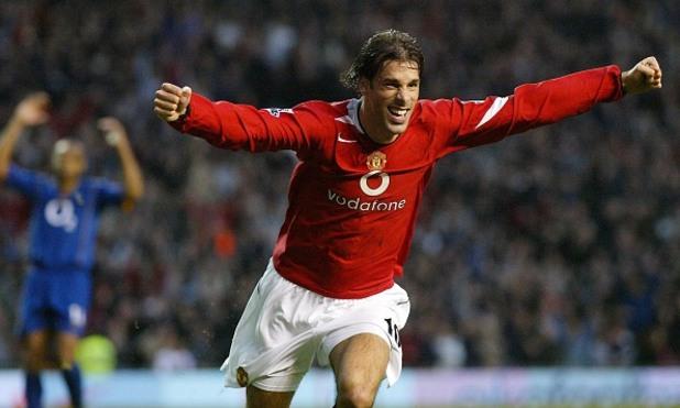 Юнайтед - Арсенал 2:0, 2004 г.