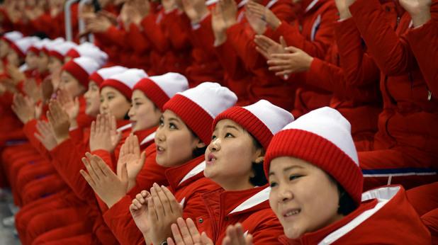 Северна Корея, мажоретки