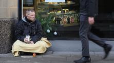 бездомен човек