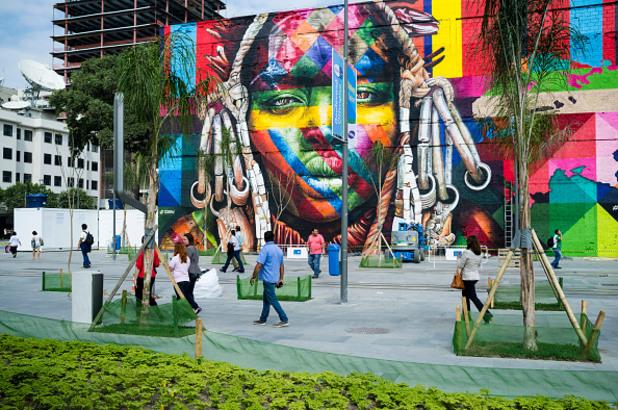 едуардо кобра, eduardo kobra, графити