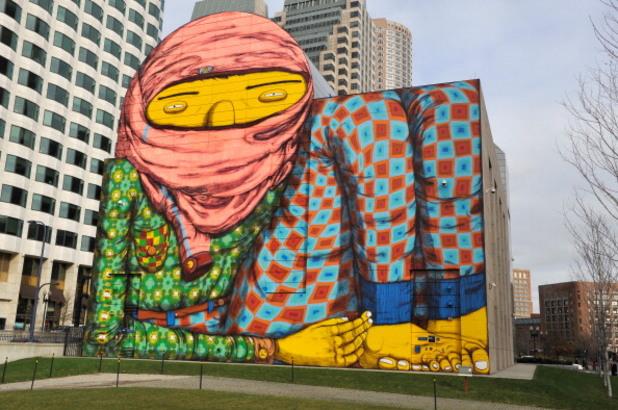 os gemeos, графити