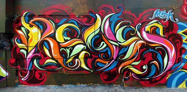 reyes, графити
