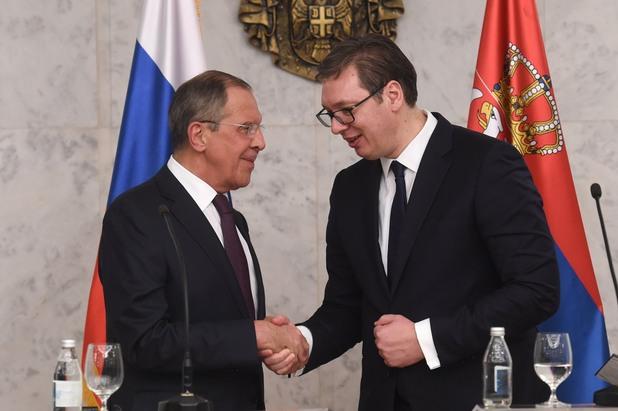 Лавров и Вучич