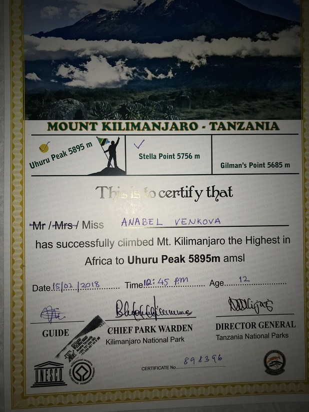 килиманджаро, връх килиманджаро, живко венков