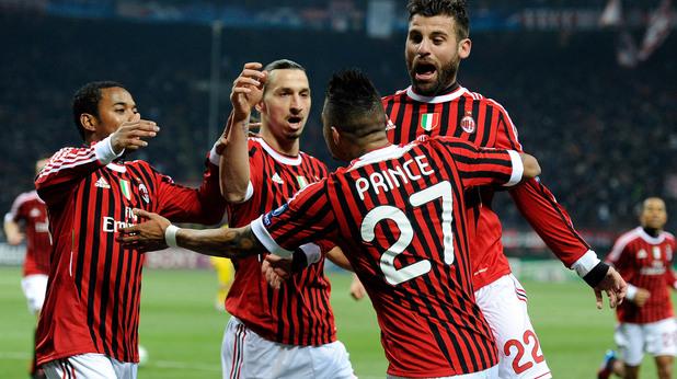 Милан - Арсенал 4:0