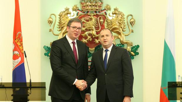 Александър Вучич и Румен Радев
